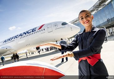 First Air France A350 XWB – delivery ceremony