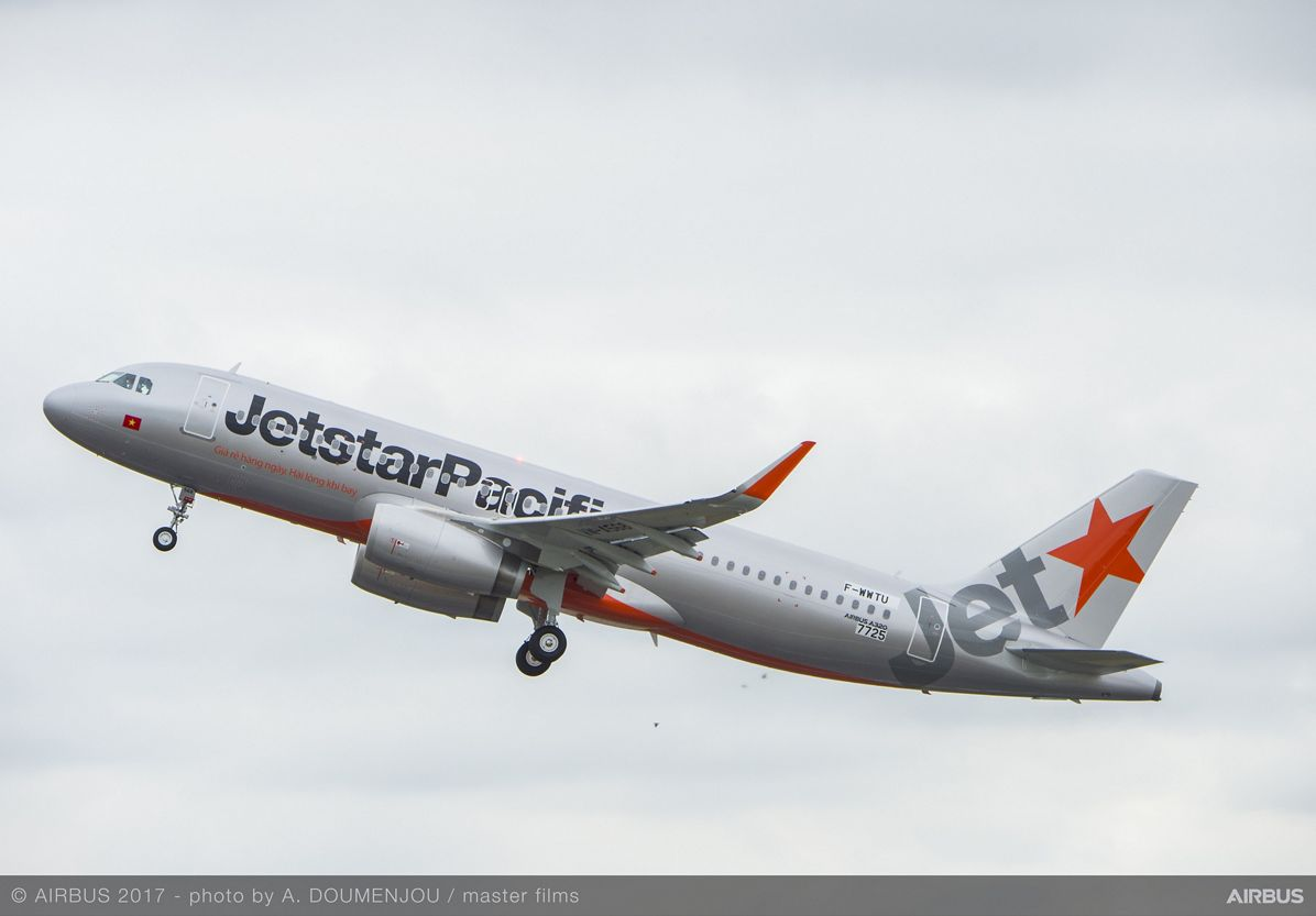 Jetstar Pacific takes delivery of its first aircraft ordered directly from Airbus