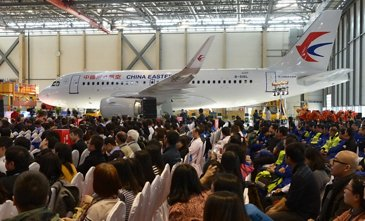 A320 Airbus 200th delivery in Tianjin-FALC 2