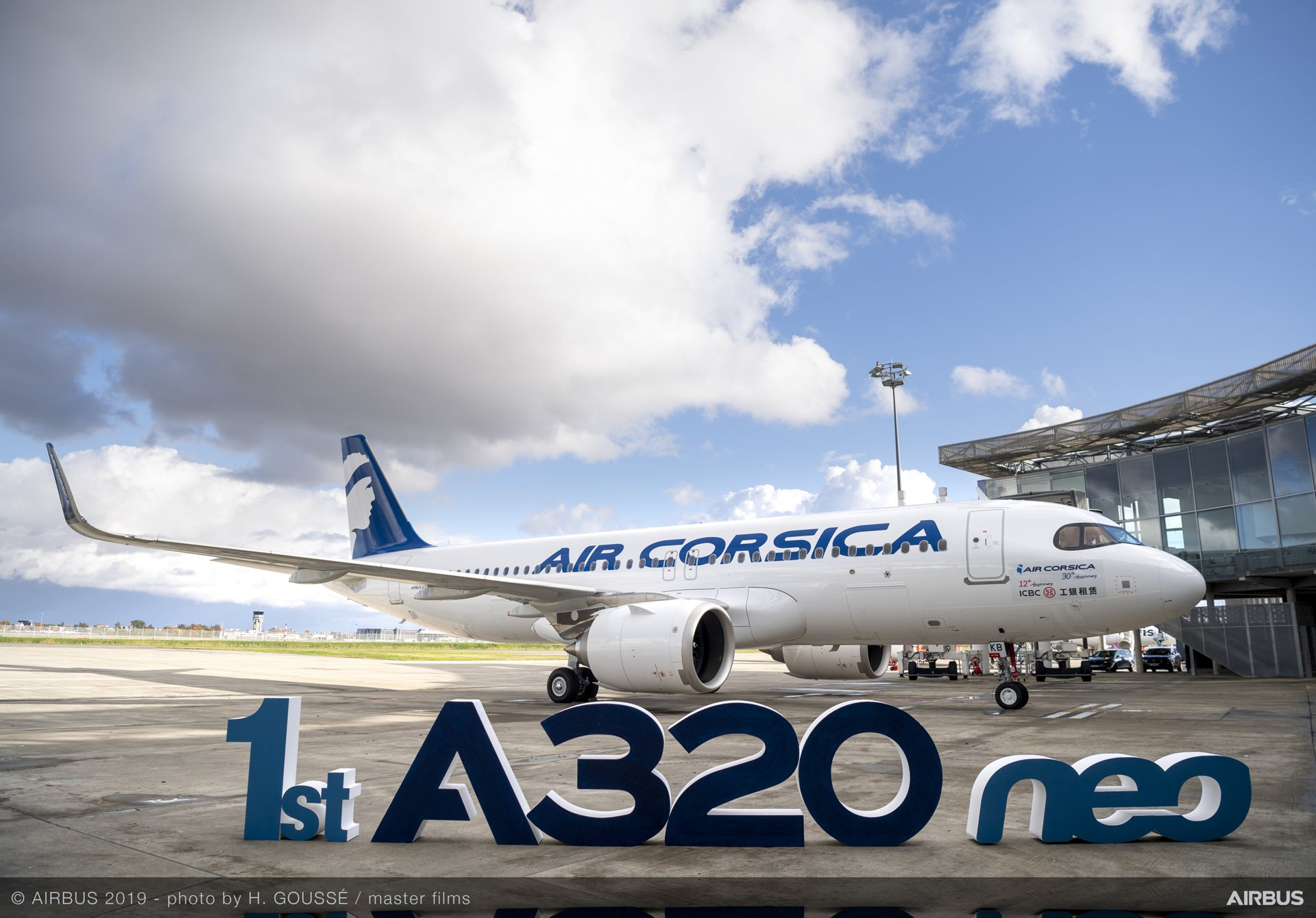 Air Corsica became the first French A320neo operator with delivery of its no. 1 aircraft from Airbus