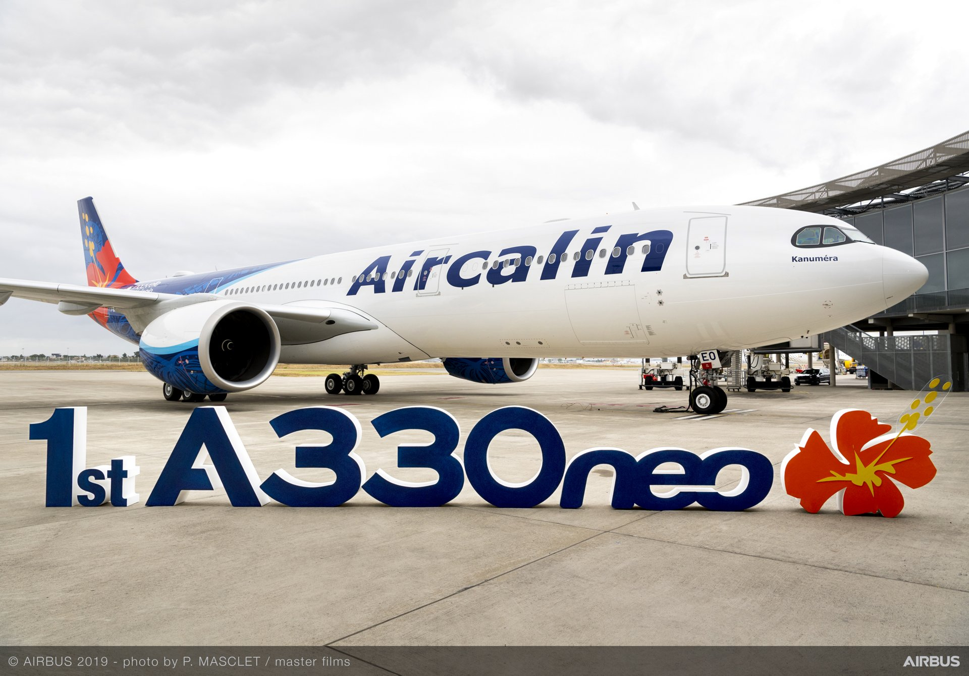 Aircalin's first A330neo – delivered by Airbus in July 2019 – is configured in a comfortable three-class layout with 291 seats