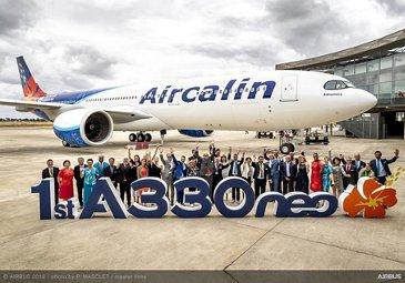 Aircalin's initial A330-900