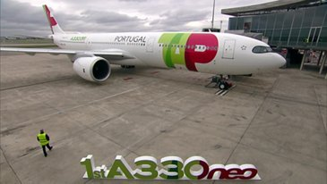 First A330-900 TAP Air Portugal MSN1836 - Delivery Ceremony