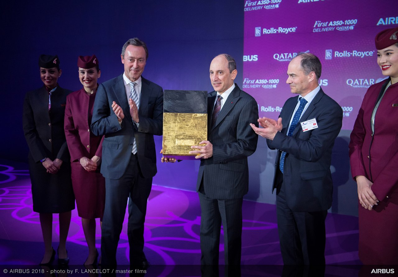 Airbus delivers first A350-1000 to Qatar Airways – 15