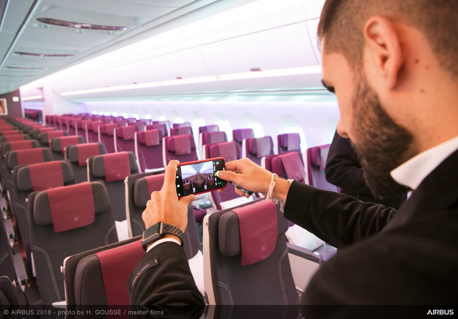 Airbus delivers first A350-1000 to Qatar Airways – 9