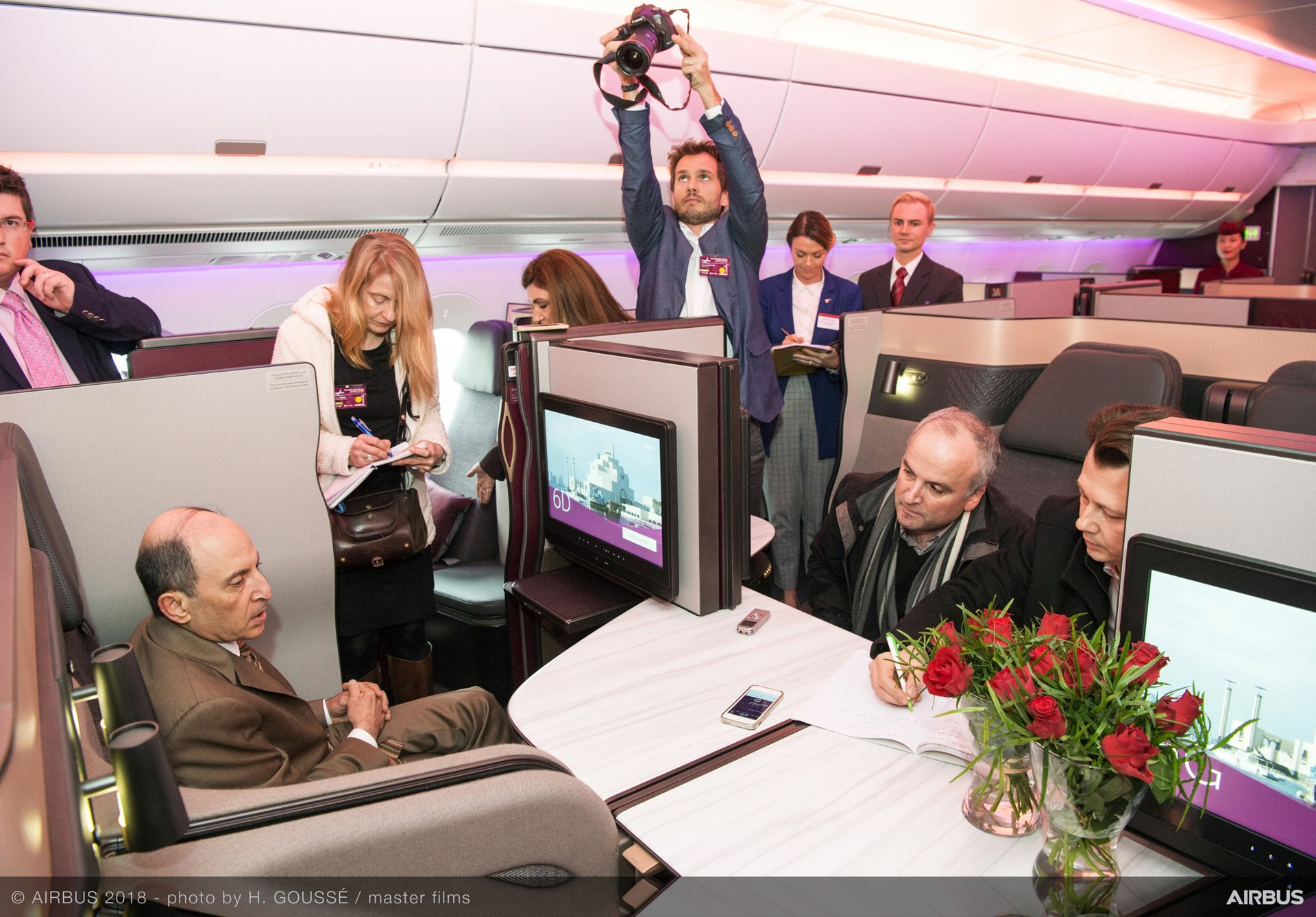 Airbus delivers first A350-1000 to Qatar Airways – 8