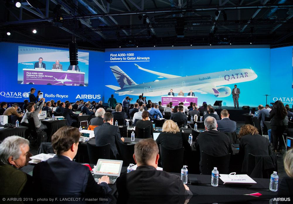 Airbus delivers first A350-1000 to Qatar Airways – 2