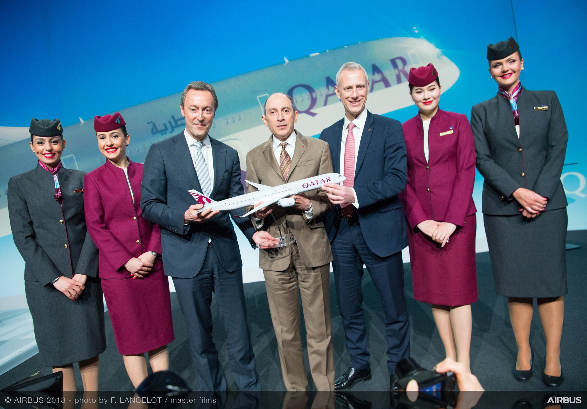 Airbus delivers first A350-1000 to Qatar Airways – 7