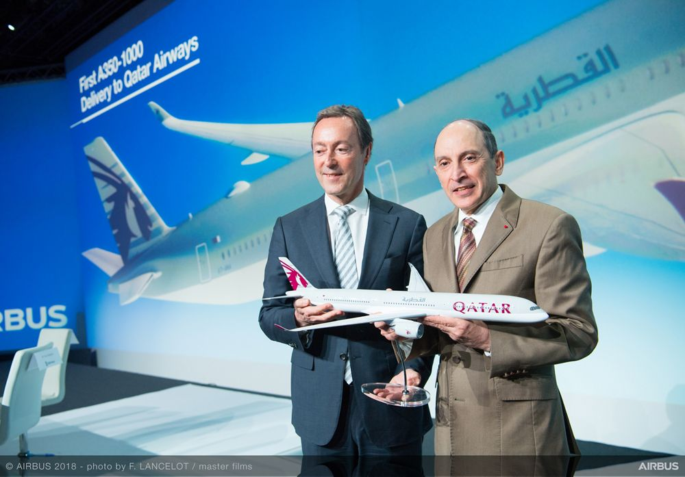 Airbus delivers first A350-1000 to Qatar Airways – 6