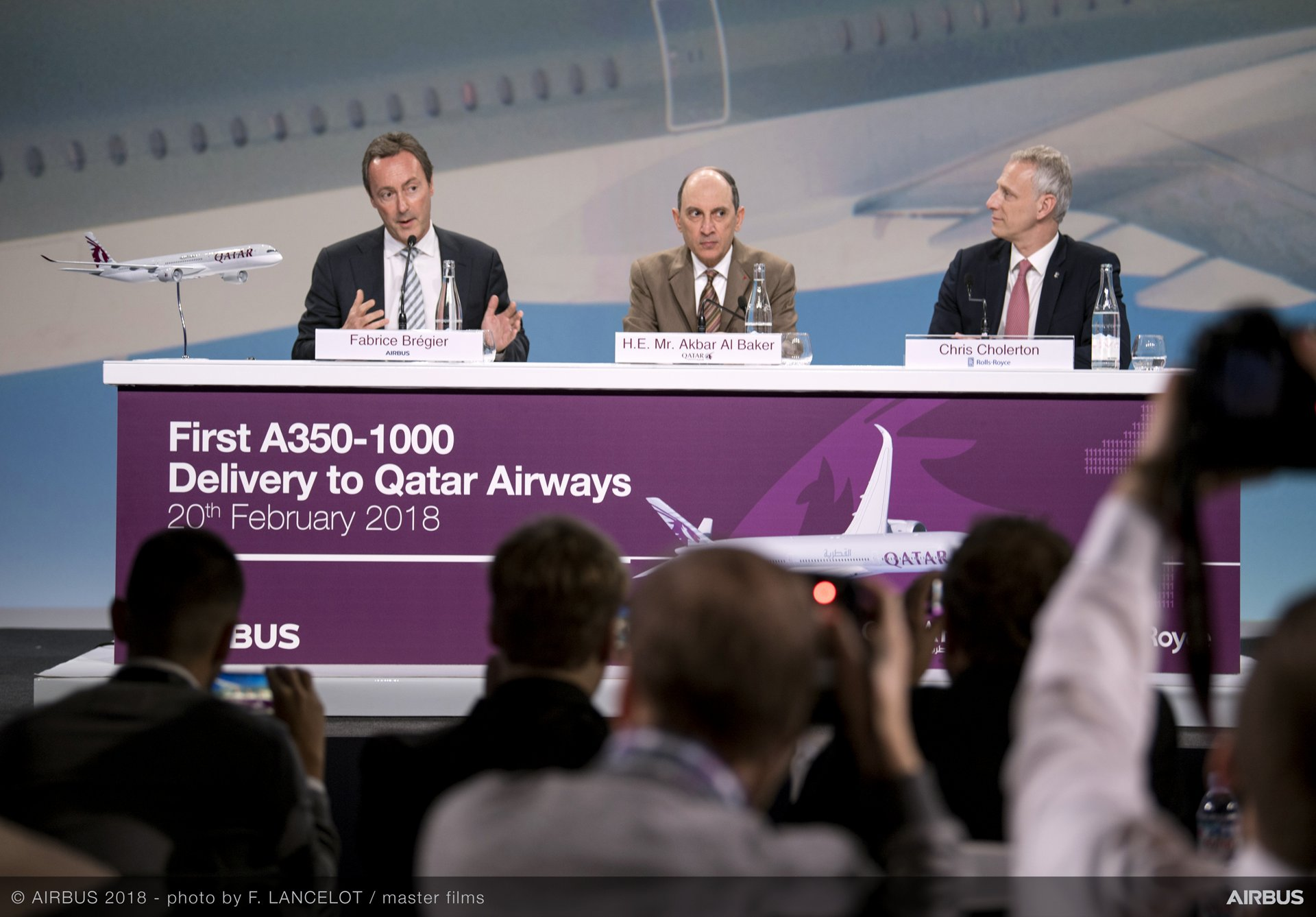 Airbus delivers first A350-1000 to Qatar Airways – 3