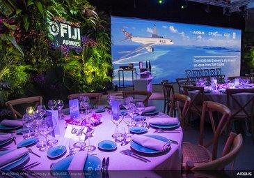 Fiji Airways A350-900 delivery ceremony