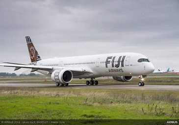 Fiji Airways' first A350-900