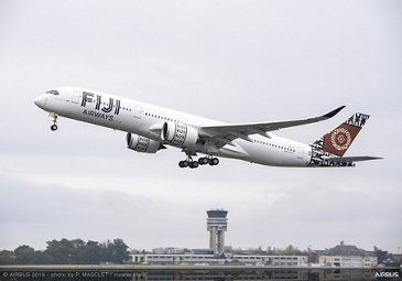 First Fiji Airways A350-900