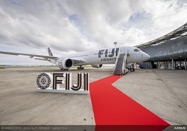 First A350-900 delivered to Fiji Airways