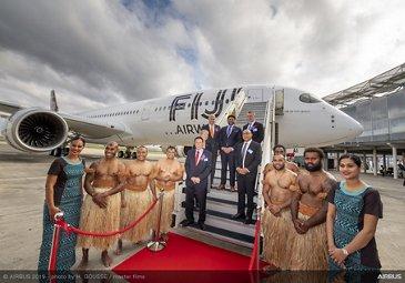 Fiji Airways receives first A350-900