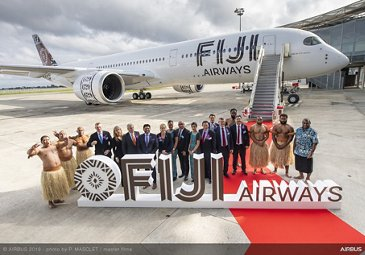 First A350-900 delivery to Fiji Airways
