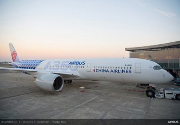 A350 XWB China Airlines Special Livery - Delivery