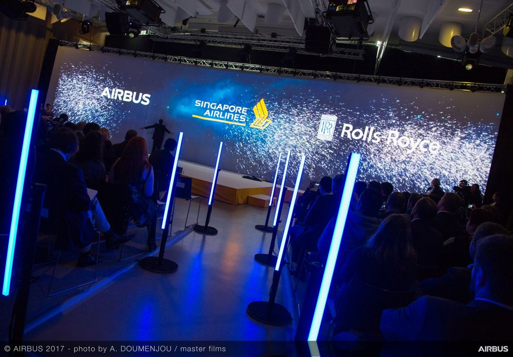 New Singapore Airlines A380 delivery ceremony – Ambiance 3