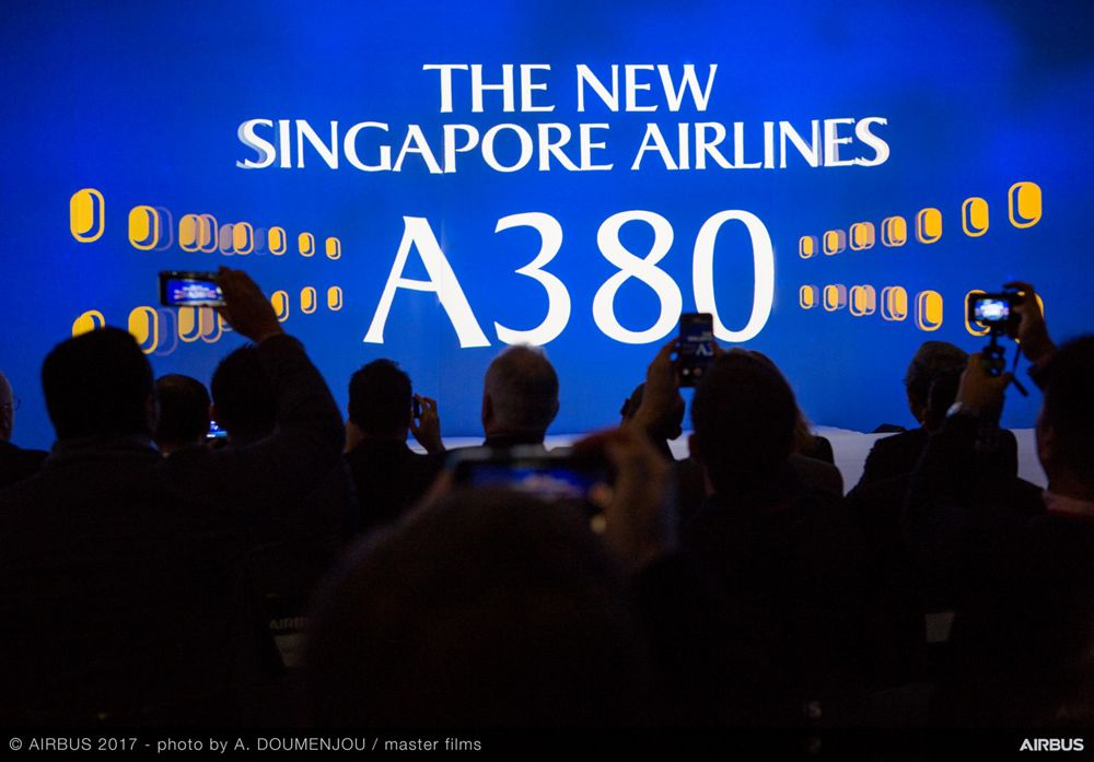 New Singapore Airlines A380 delivery ceremony – Ambiance 2