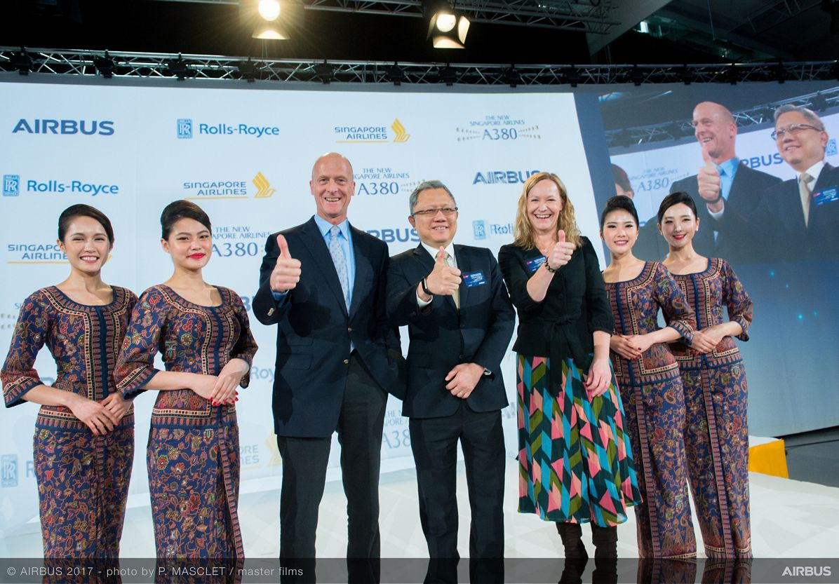 New Singapore Airlines A380 delivery ceremony 3