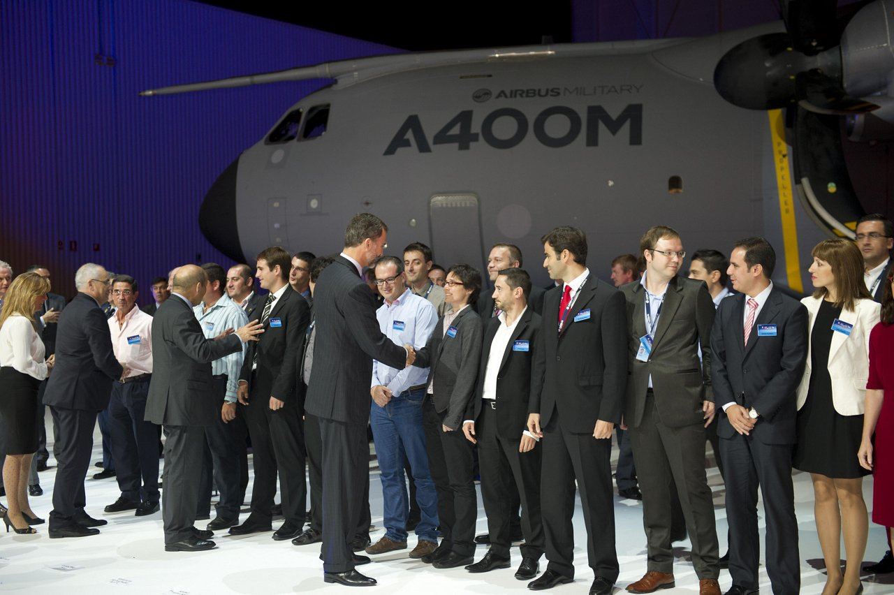 A400M first delivery ceremony 1