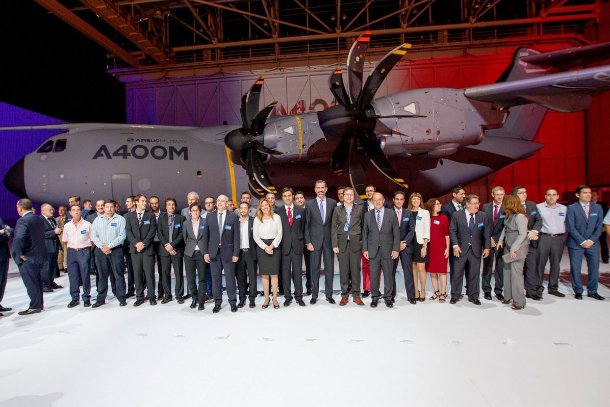 A400M first delivery ceremony 2