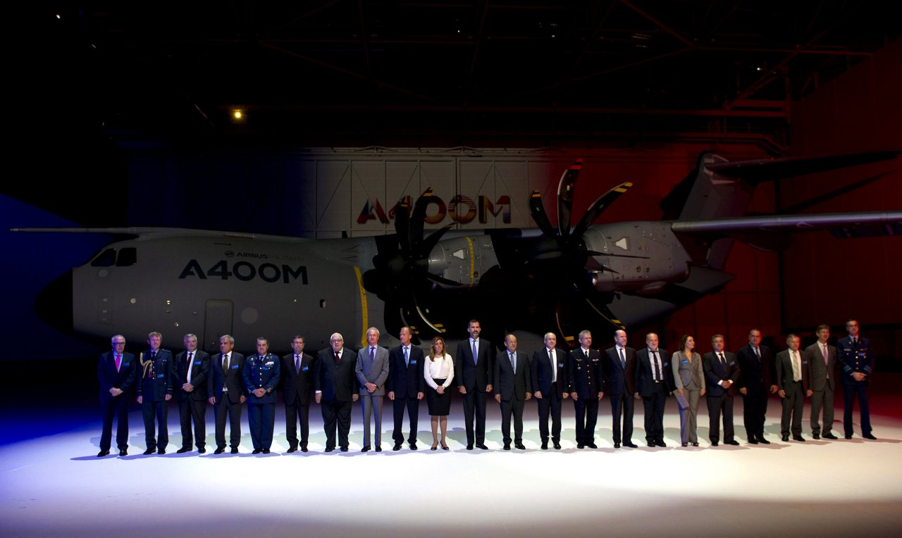 A400M first delivery ceremony 5