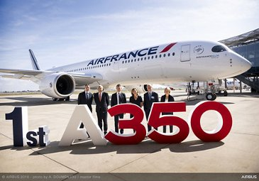 Air France A350 900 Group