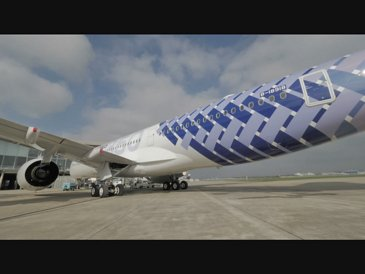 A350 XWB China Airlines Special Livery Broll