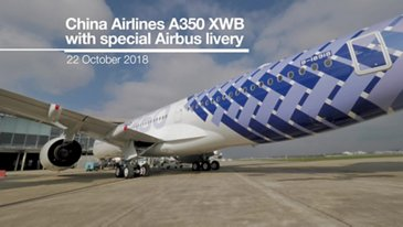 China Airlines A350 Special Airbus Livery Ceremony