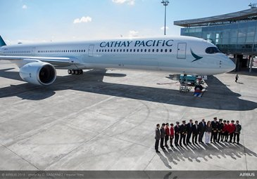 A350-1000 first delivery to Cathay Pacific 1