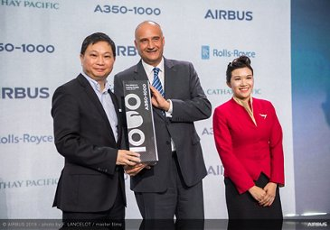 A350-1000 first delivery to Cathay Pacific 4