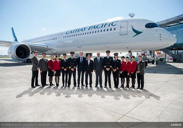 A350-1000 first delivery to Cathay Pacific 3