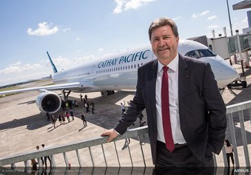 A350-1000 first delivery to Cathay Pacific 7