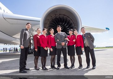 A350-1000 first delivery to Cathay Pacific 6