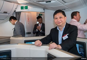 A350-1000 first delivery to Cathay Pacific 2