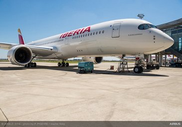 First A350-900 Delivery to Iberia