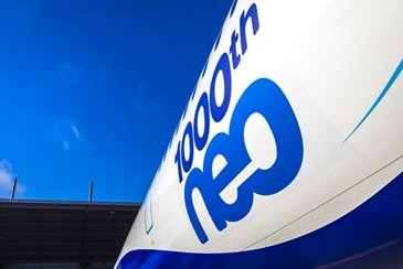 IndiGo takes delivery of 1,000th A320neo Family aircraft