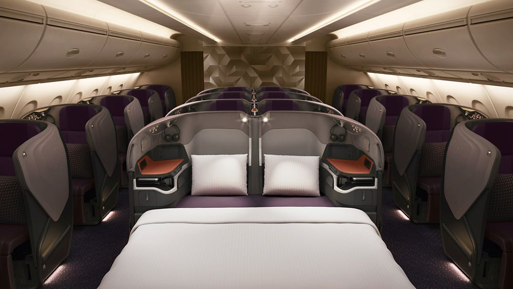 SIA A380 New Business Class-SIA Copyright