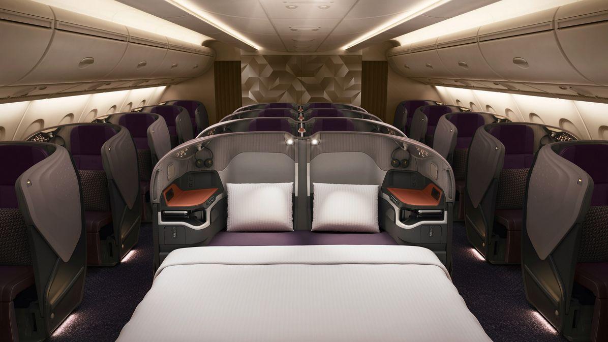 SIA A380 New Business Class-SIA Copyright