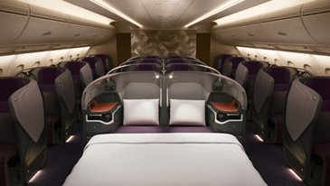 New Singapore Airlines A380, Business Class - SIA Copyright