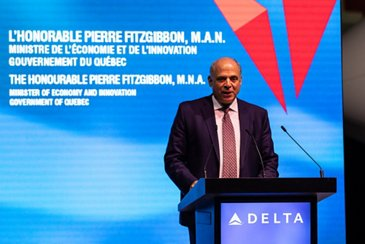 The Honourable Pierre Fitzgibbon, M.N.A., Minister of Economy and Innovation, Government of Quebec