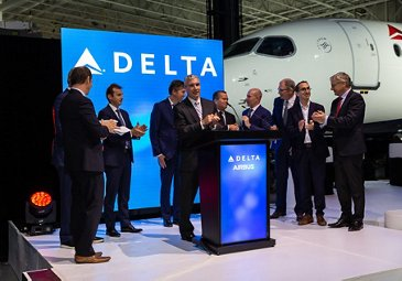 First A220 delivery to Delta Air Lines