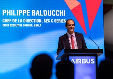 First A220 delivery to Delta Air Lines – Philippe Balducchi
