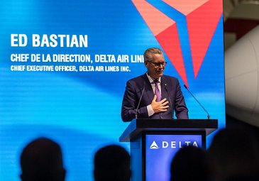 First A220 delivery to Delta Air Lines 鈥� Ed Bastian 2