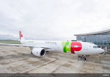 TAP Air Portugal receives first A330neo