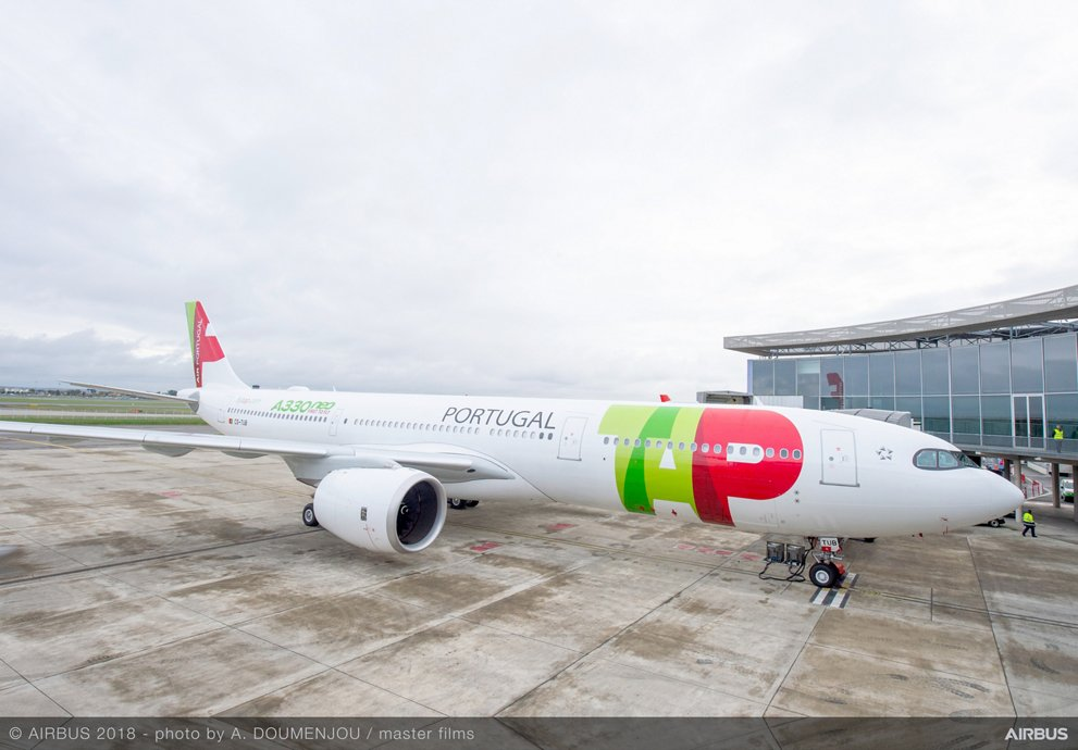 First A330-900 TAP Air Portugal MSN1836 - Delivery