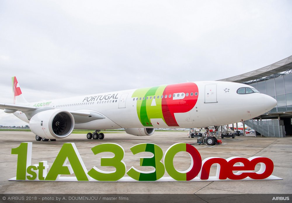 First A330neo delivery to TAP Air Portugal