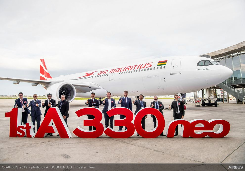 First A330neo Air Mauritius MSN1884 Delivery Ceremony
