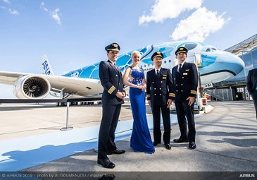 First A380 delivery ceremony for All Nippon Airways